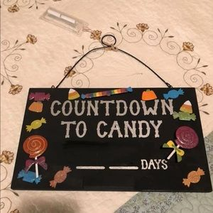 Other - Countdown to Candy Sign